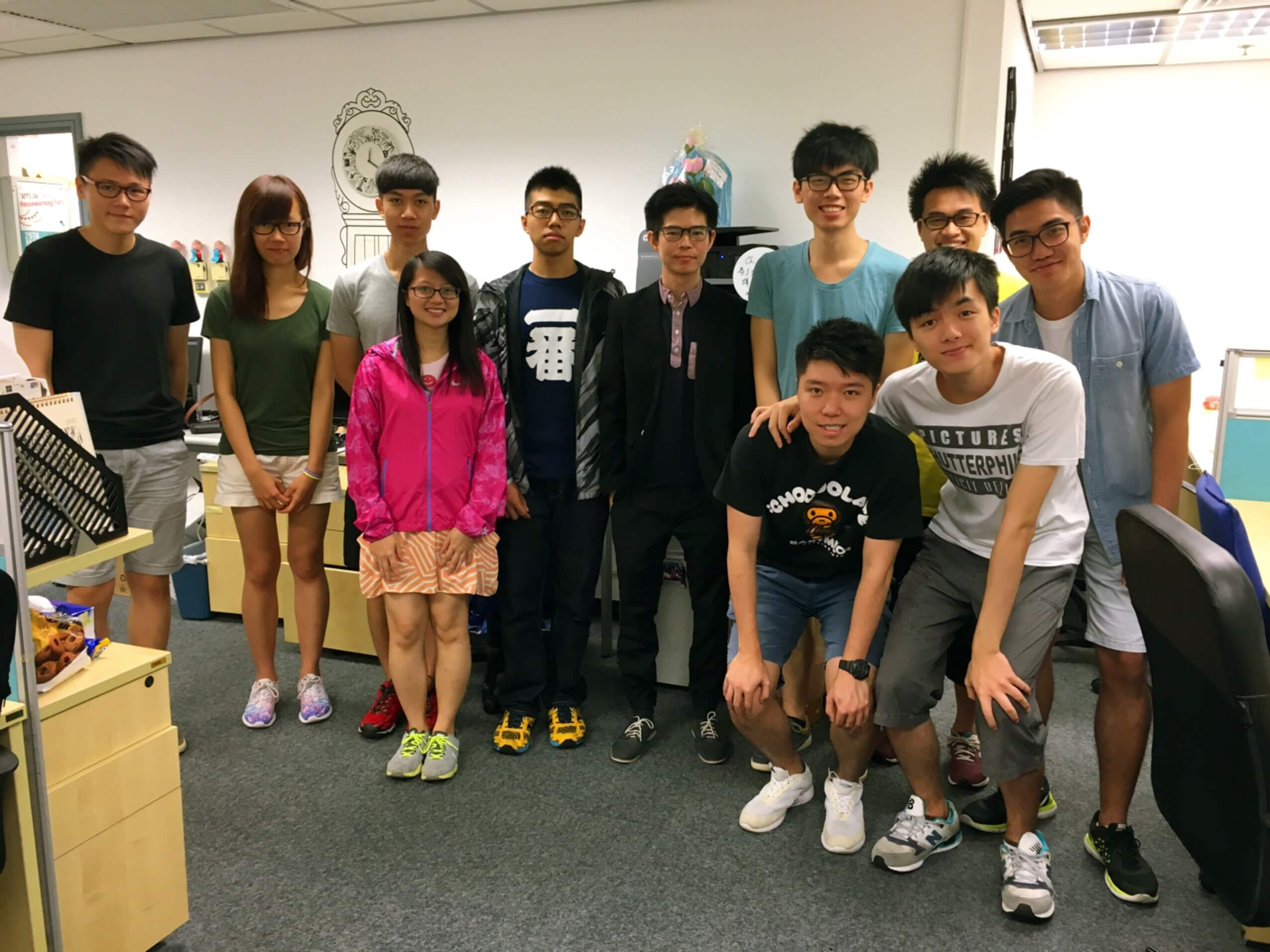 Connecting with the Students – Motherapp Shared at CityU Apps Lab